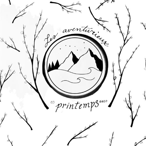 Aventurieux, carnet nature, illustration